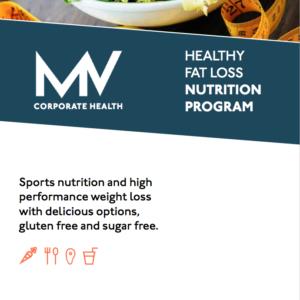MV Corporate Health - 4 Week Healthy Fat Loss